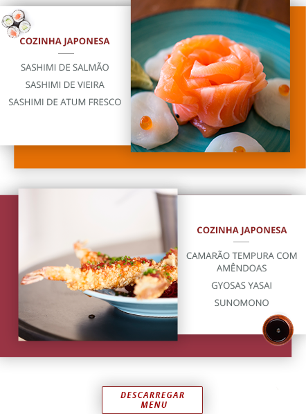 Restaurante de Sushi & Mexicano na Praia da Barra, Aveiro